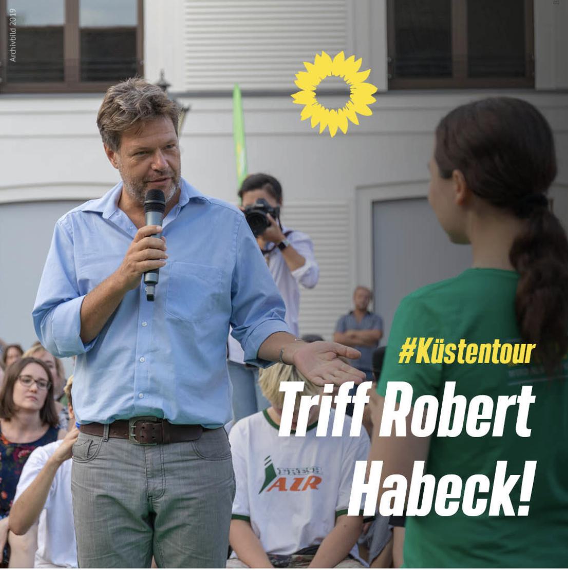 Gemeinsam mit Robert Habeck auf #Küstentour