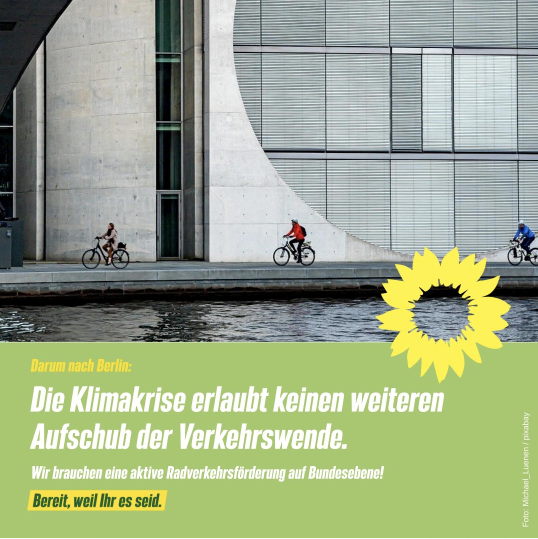 Wir brauchen eine aktive Radverkehrsförderung auf Bundesebene!