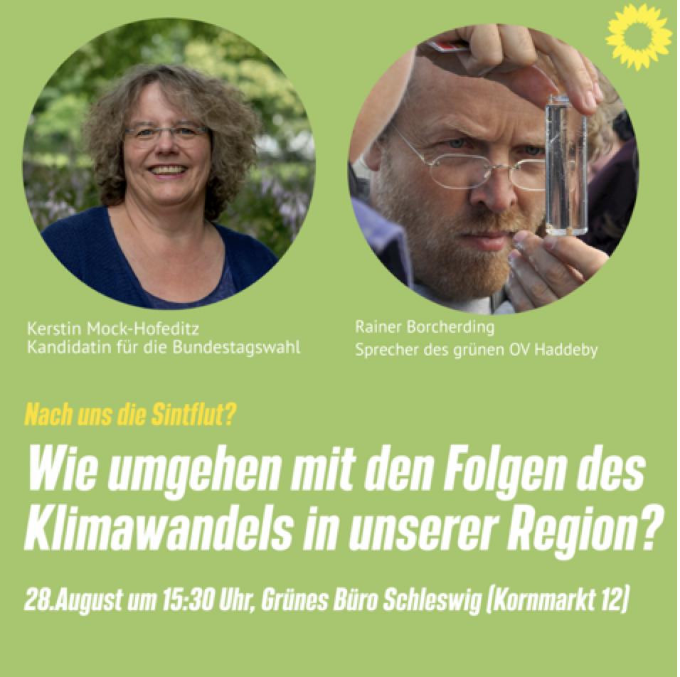 Wie umgehen mit den Folgen des Klimawandels in unserer Region?